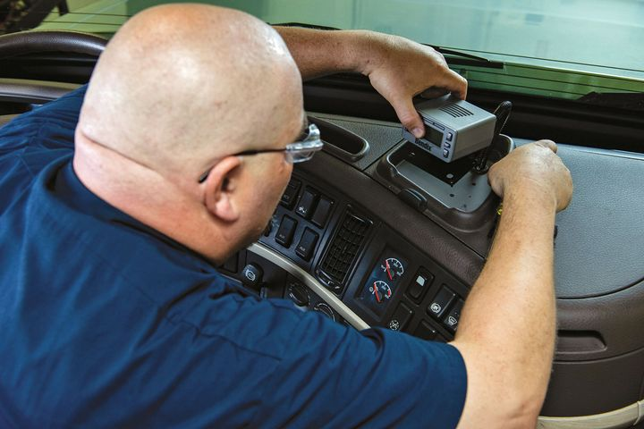 Upgrading advanced truck safety systems is highly technical work, and care must be taken to do it properly, says Bendix. - Photo: Bendix