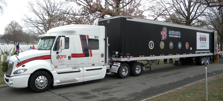 """Boyd Brothhers Transporation has been named a """"Fleet to Watch"""" in the 2021 Best Fleets to Drive for recognition program. - Photo: Daseke"""