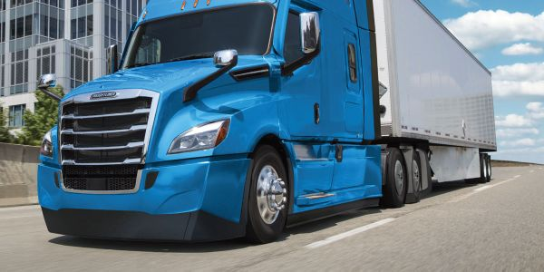 Low-ground-clearance aero packages on some Freightliner Cascadias may be contributing to...