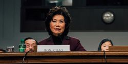 """During her confirmation hearing four years ago for secretary of transportation, Elaine Chao advocated strongly for """"unleashing the potential for private investment in our nation's infrastructure."""""""