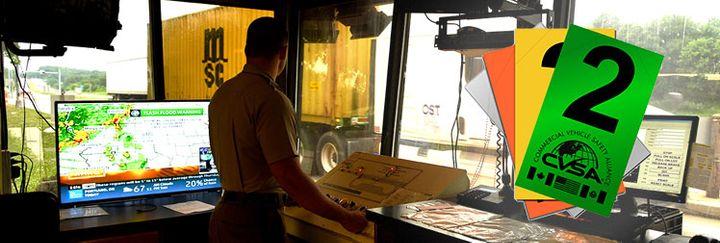 What will inspectors do when autonomous trucks come through the scales? - Photo: CVSA