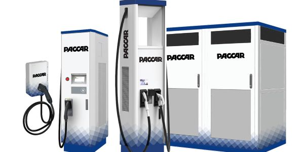 Paccar Parts' new electric vehicle charging stations maximize coverage over a wide range of...
