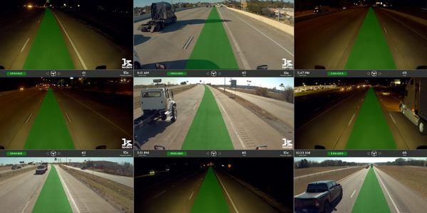 "Kodiak Robotics has posted videos showcasing more than 800 miles of ""disengagement-free""..."