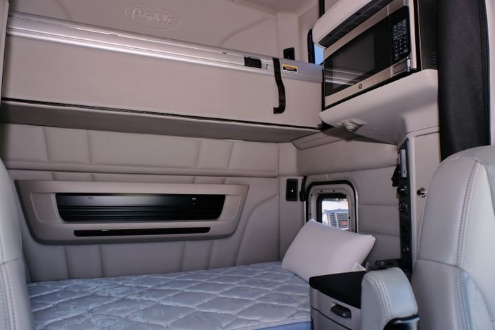 Are two shorter periods in the sleeper berth as beneficial as one long one? - Photo: Jim Park