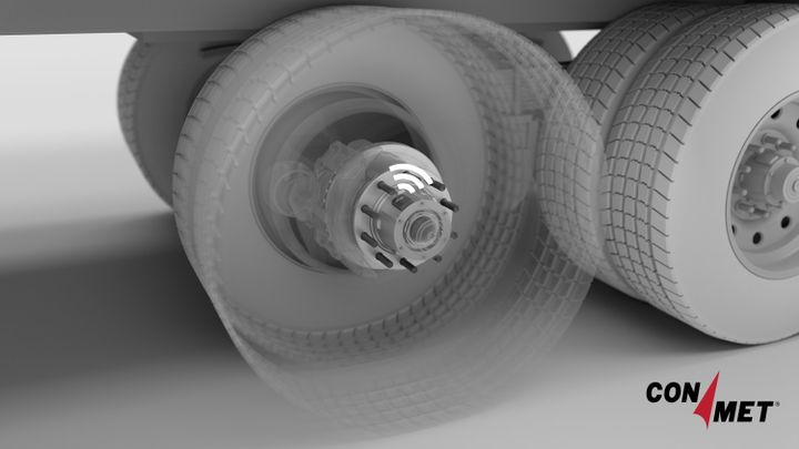 Goodyear and ConMet are teaming up to provide truck fleets data on the health of their tires and wheel ends. - Photo: ConMet