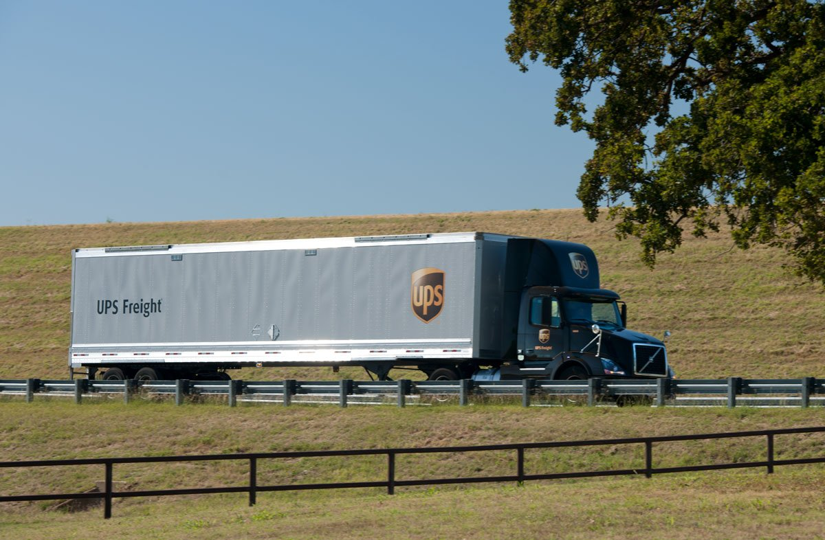 UPS Selling Less-Than-Truckload Business
