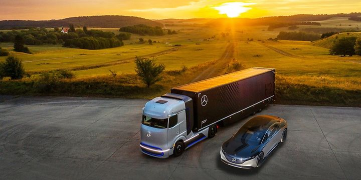 Spinning off its truck and bus business will allow acceleration of Daimler's work on zero-emission and autonomous trucks. - Photo: Daimler