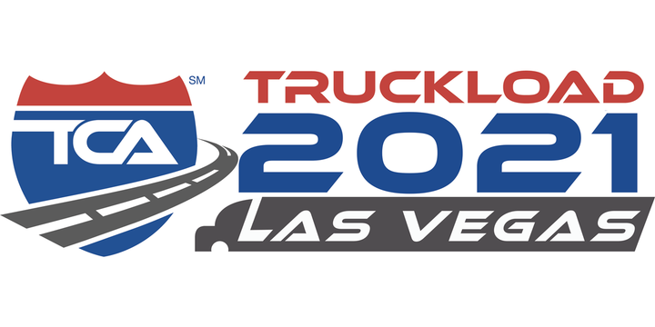 The Truckload Carriers Association rescheduled Truckload 2021: Las Vegas to Sept. 25-28. - Logo: TCA