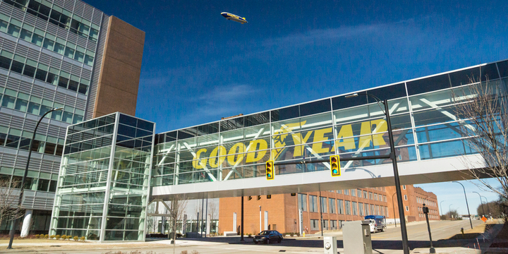 After closing in the second half of the year, the combined tire company will be headquartered in Akron, Ohio. - Photo: Goodyear