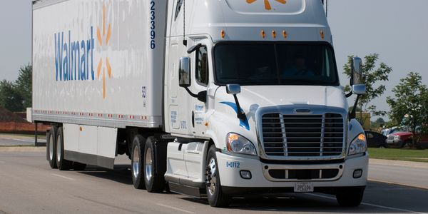 When a truck driver begins with the Walmart fleet at select locations, they will receive the...