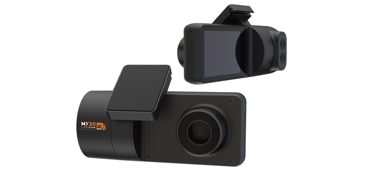Konexial's My20 LogiCam Ai video management system integrates road and driver facing cameras with live telemetry data. - Photo: Konexial