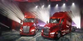 Peterbilt Unveils New Model 579 Highway Tractor