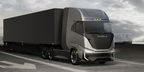 Nikola to Start Building Fuel-Cell Cabover Prototypes