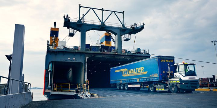 The Tranzero Initiative is focused on reducing the 55,000 tonnes of carbon emissions generated from road transports to and from the Port of Gothenburg each year. - Photo: Gothenburg Port Authority