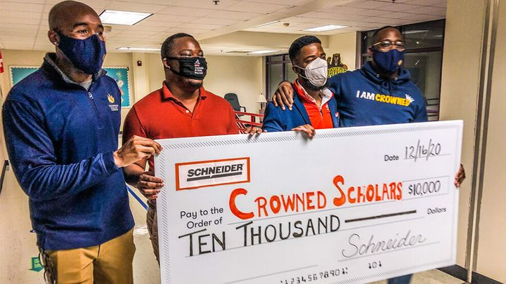 Beginning November 2020, Schneider provided Diversity, Equality and Inclusion Program grants to 11 organizations totaling more than $75,000. - Photo: Schneider