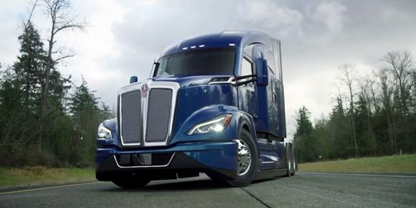 Kenworth said the T680 Next Generation's sleek design offers as much as 6% better fuel economy.