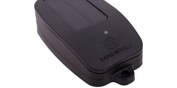 Rand McNally'sTrueTrack S110 solar-powered asset tracker for use on trailers.