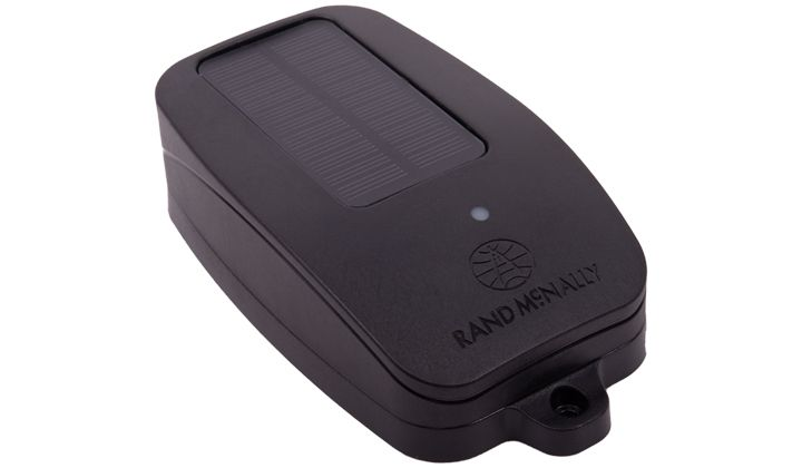 Rand McNally'sTrueTrack S110 solar-powered asset tracker for use on trailers. - Photo: Rand McNally