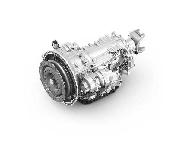 ZF's PowerLine automated transmission is designed for medium- and heavy -duty trucks and buses, and is prepared for mild hybrid and plug-in hybrid vehicle variants. - Photo: ZF