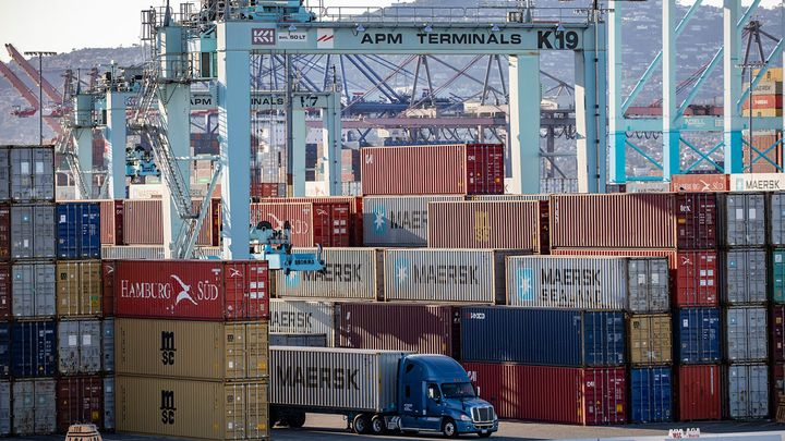 Technology promises to improve appointment scheduling at the Port of Los Angeles and other ports. - Photo: Port of Los Angeles