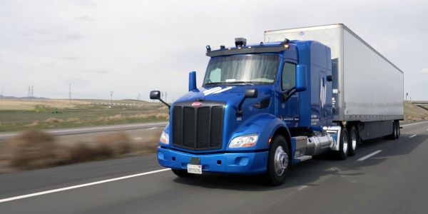 Embark is pursuing a middle-mile approach to automated trucking, operating only on limited...
