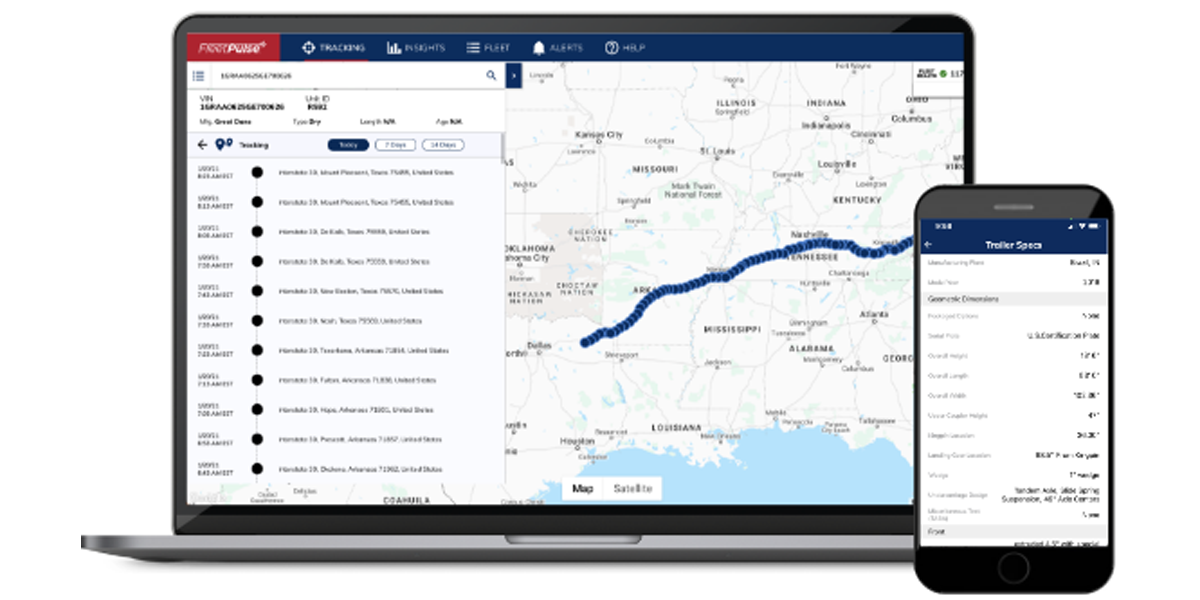 Great Dane Adds GPS-Only Telematics For Pre-Owned Trailers