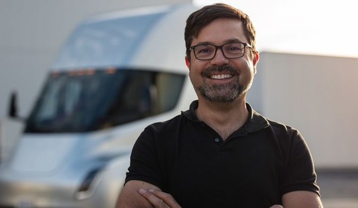 Jerome Guillen has transitioned to a new role as president of Tesla's heavy-duty truck program. - Photo: Jerome Guillen LinkedIn