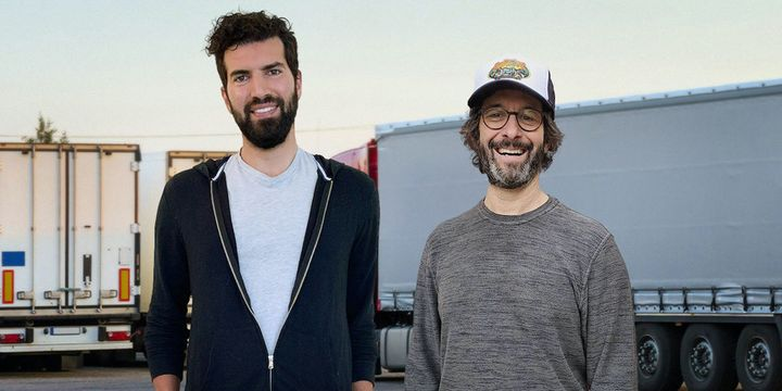 Left to right: Koffie Labs co-founders Mike Dorfman and Ian White. - Photo: Koffie