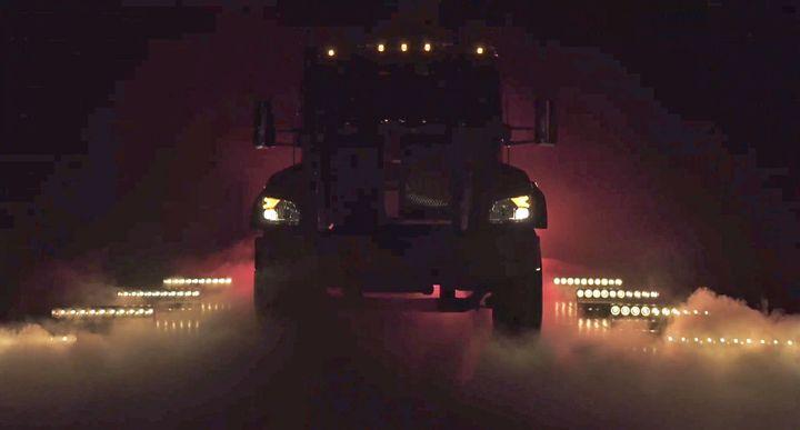 Kenworth will soon be unveiling a new medium-duty truck. - Photo: Screen capture during Work Truck Week virtual presentation, Deborah Lockridge