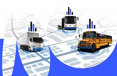 LionBeat is a telematics system designed for electric vehicles. - Illustration: Lion Electric