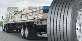 Michelin Wide-Base Trailer Tire for High-Scrub Operations