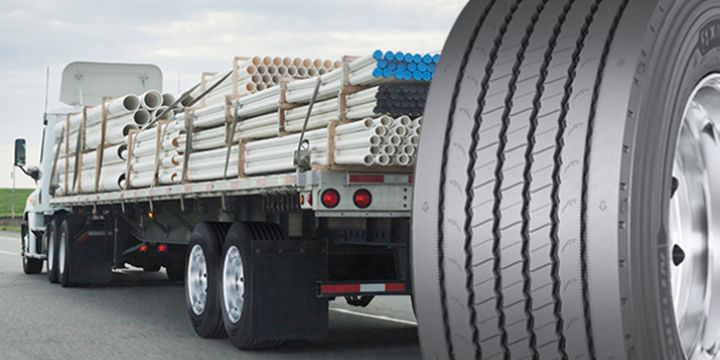 As a wide base single configuration, the tire enables a tractor trailer to carry up to 289 more pounds of payload versus dual tires, Michelin officials said. - Illustration: Michelin