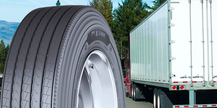 The Michelin X Multi Energy Z2 tire for regional applications, and the Michelin X Line Energy T2 tire for the long-haul and truckload market will be available to order on April 1. - Photo: Michelin