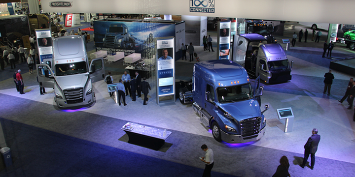 The North American Commercial Vehicle Show will be held from Sept. 28-30 in Atlanta. - Photo: Evan Lockridge