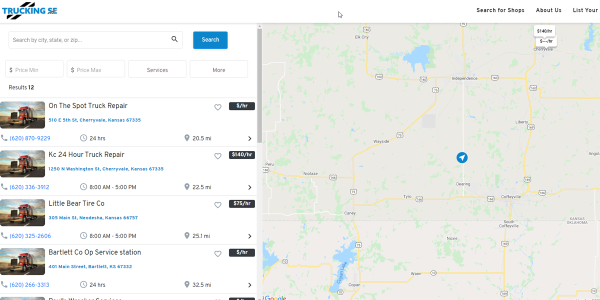 TruckingSE.com matches Class 6, 7 and 8 truck operators to the nearest and most appropriate...