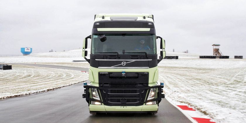 Under the partnership, Volvo will integrate the Aurora Driver into Volvo's on-highway trucks,...