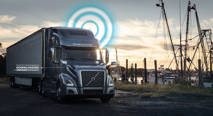 Updating parameters is a great way to help the truck function more efficiently in different applications or conditions, Volvo says. - Photo: Volvo Trucks North America