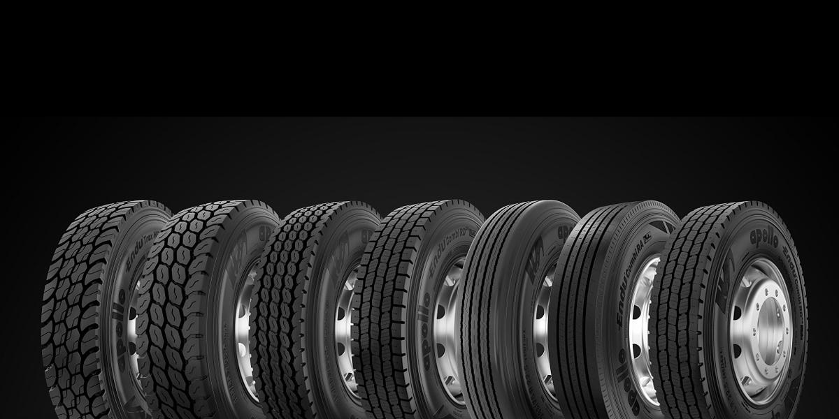 Apollo Launches Truck Tires in North America