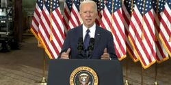 President Joe Biden proposed the building of a nationwide EV charging network.