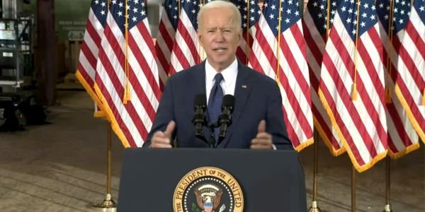 Of Biden's $2 trillion infrastructure plan, he is proposing $174 billion would be for building...