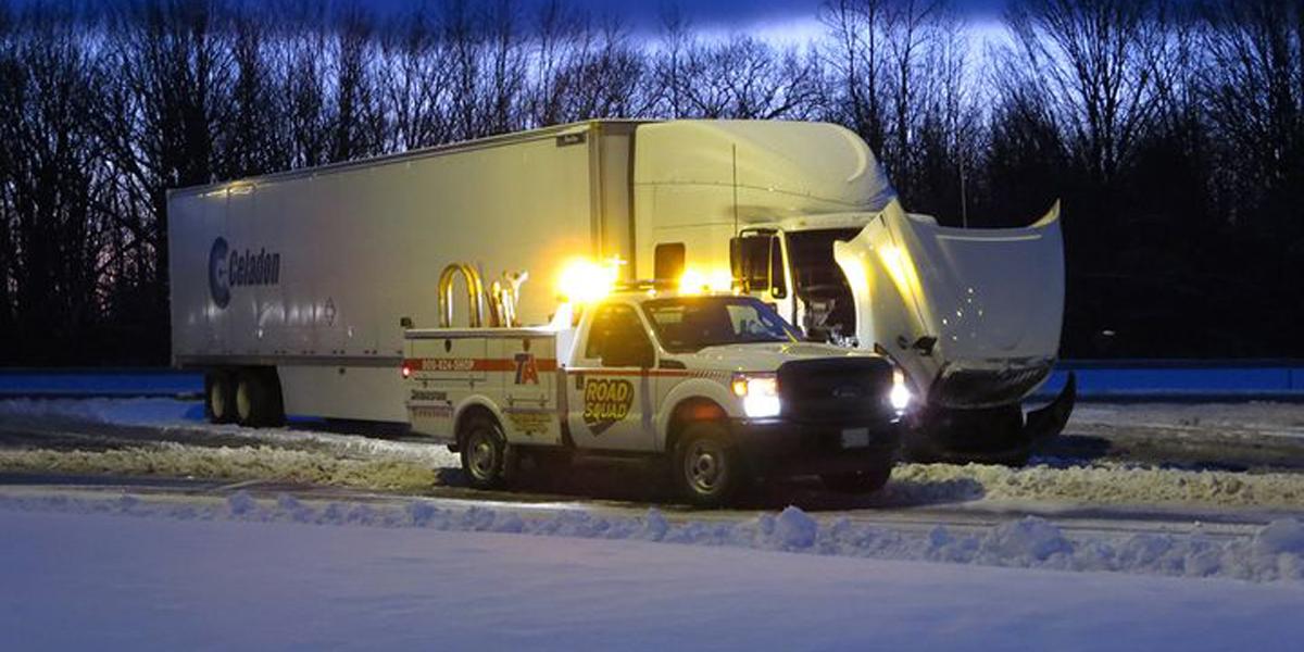 Report: Truckload, LTL Carriers Reduce Roadside Repair Frequency
