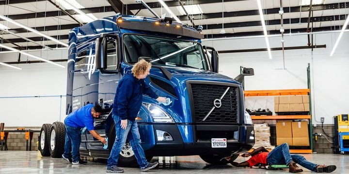 Embark aims to refine and scale the software and support services necessary to enable carriers to own and operate Embark-equipped OEM trucks. - Photo: Embark