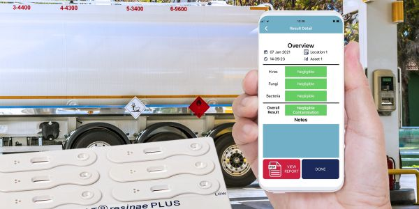 The Fuelstat Result mobile app allows users to verify fuel test results and create a report that...