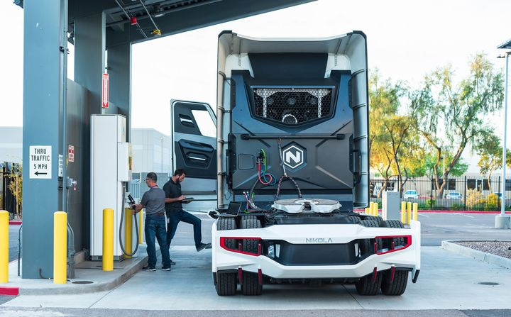 The Nikola-TA collaboration is a first step to explore the mutual development of a nationwide network of hydrogen fueling stations. - Photo: Nikola