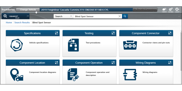 The Driver Assist ADAS Quick Link feature displays the information techs need to diagnose,...