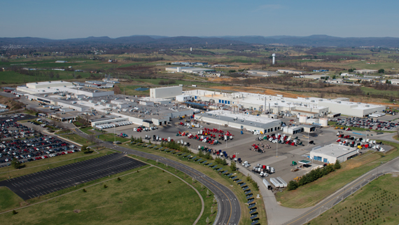 UAW Workers Strike Volvo New River Valley Truck Plant