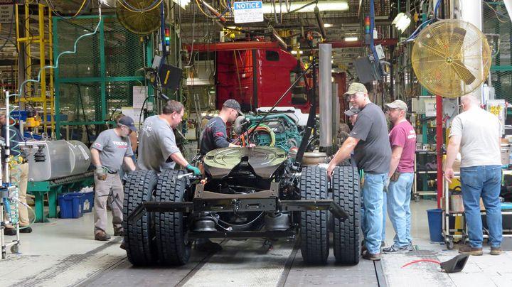 Production will resume at Volvo Trucks North America's New River Valley Plant on May 3. - HDT file photo (2015): Deborah Lockridge