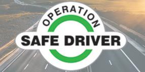 Operation Safe Driver Week to Focus on Speeding