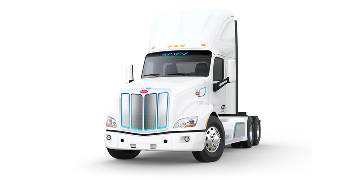 The new trucks are expected to be on the road later this year, which would make A&R one of the first to put the electric vehicles into service. - Photo: Peterbilt