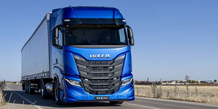 Ivecoand Plus will integrate Iveco's latest-generation S-Wayheavy-duty truck with the PlusDrive full-stack autonomous driving system. - Photo: Plus
